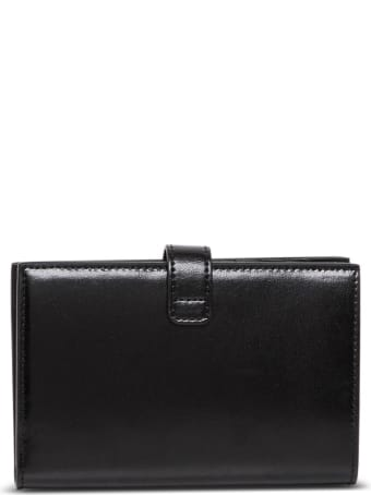 Givenchy Leather Bifold Wallet With 4g Buckle