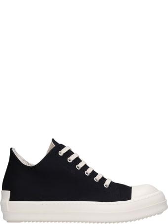 DRKSHDW Sneakers In Black Canvas