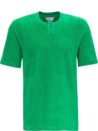 Bottega Veneta Green Terry Cloth T-shirt