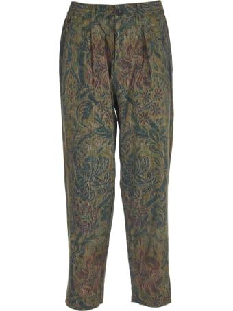 Pierre-Louis Mascia Floral Print Trousers