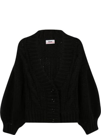 GCDS V-neck Buttoned Cardigan