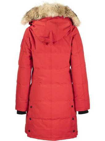 Canada Goose Shelburne Parka Red Jacket