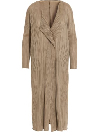 Pleats Please Issey Miyake 'bouquet Colors' Cardigan