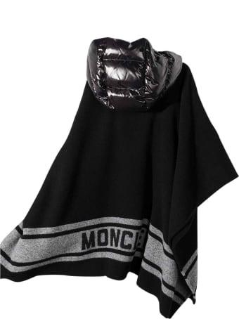 Moncler Black Moncler Enfant Girl's Cape