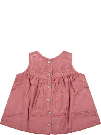 Caffe' d'Orzo Pink ''ada'' Dress For Babygirl