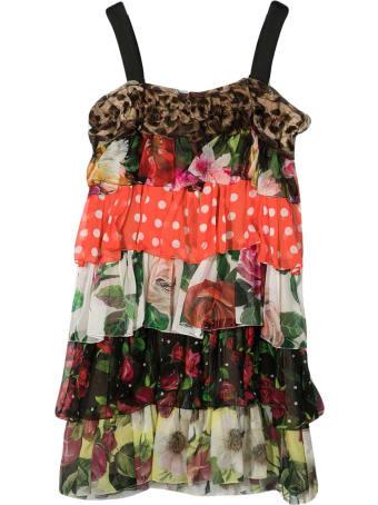 Dolce & Gabbana Patterned Dress
