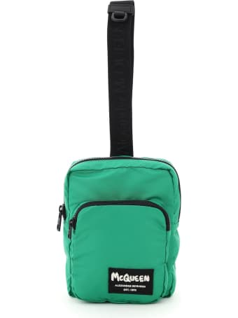 Alexander McQueen Nylon Crossbody Bag