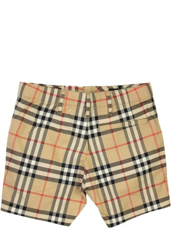 Burberry Tristen - Vintage Check Cotton Tailored Shorts