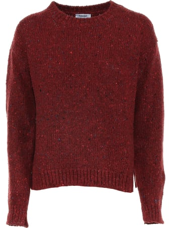 Base Red Crewneck Sweater