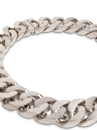 Givenchy Chain Silver Brass Necklace