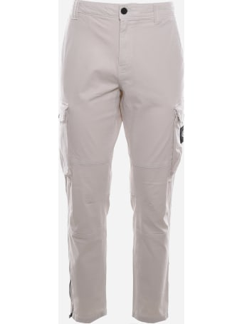 Calvin Klein Jeans Stretch Cotton Cargo Pants