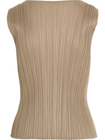 Pleats Please Issey Miyake 'bouquet Colors' Top