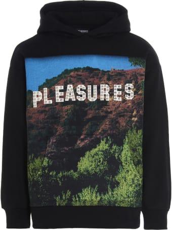 Pleasures 'pleasurewood Studded' Sweatshirt