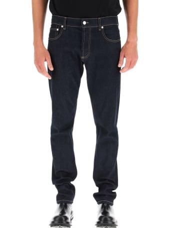 Alexander McQueen Graffiti Jeans