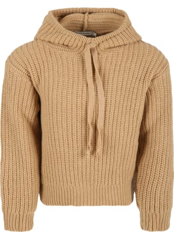 The New Society Beige ''easy'' Sweater For Kids