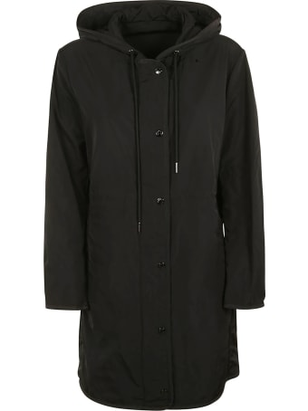Moncler Buttoned Hooded Jacket
