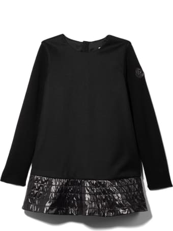 Moncler Black Wool Blend Dress
