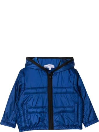 Emporio Armani Blue Padded Jacket