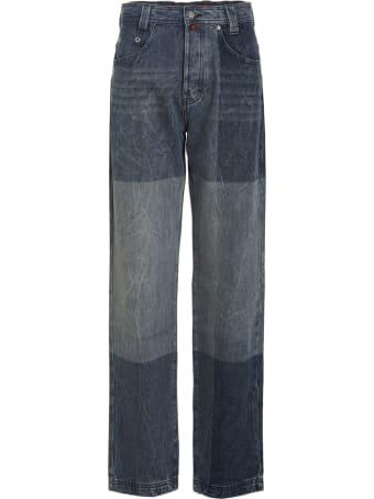 032c 'denim Pants' Jeans