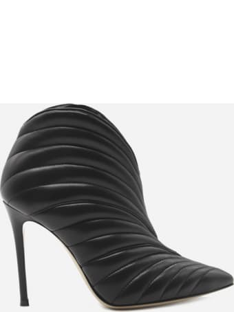 Gianvito Rossi Eiko Ankle Boots In Matelassé Effect Leather