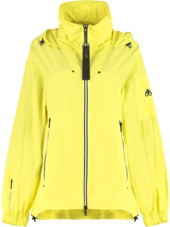 Moose Knuckles Audition Anorak Technical Fabric Hooded Jacket