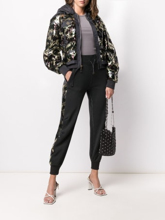 Mr & Mrs Italy Audrey Tritto Capsule Woman Bomber With Paillettes
