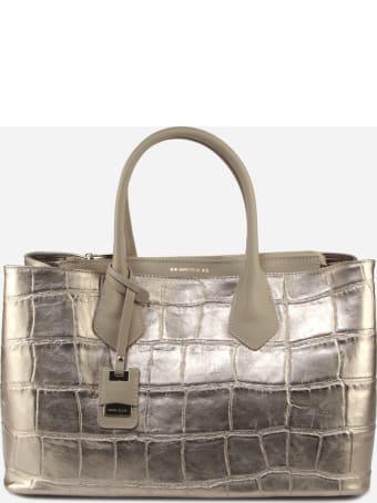 Marc Ellis Danara Bag In Crocodile Effect Leather