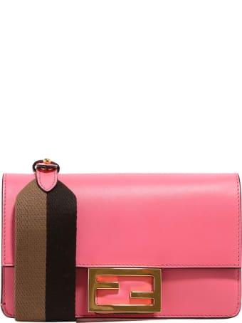 Fendi Flat Baguette Shoulder Bag