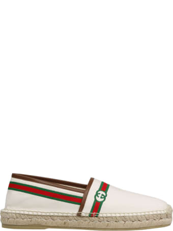 Gucci Embroidered Espadrilles