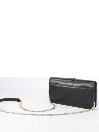 Roger Vivier Viv 'clutch In Leather