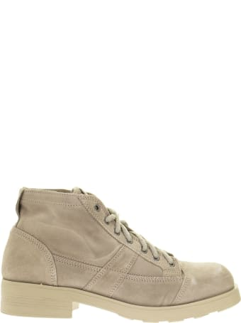OXS Frank 1900 - Laced Suede Ankle Boot