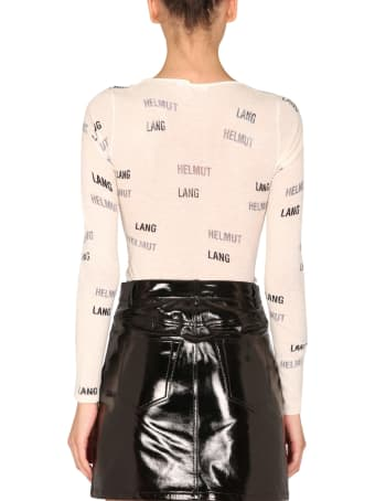 Helmut Lang T-shirt With Logo