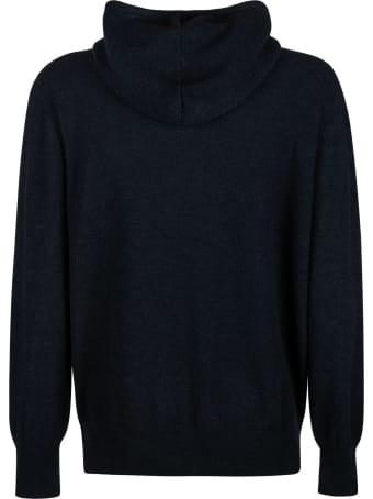Maison Flaneur Plain Hooded Sweater