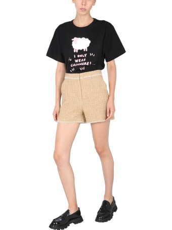 Boutique Moschino Sheep Print T-shirt