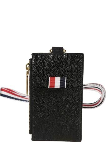 Thom Browne Zipped Card Wallet