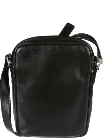 Saint Laurent Front Pocket Zip Shoulder Bag