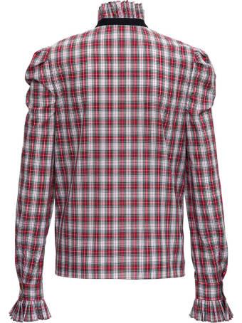 Philosophy di Lorenzo Serafini Check Cotton Poplin Shirt