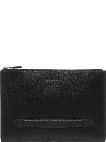 Salvatore Ferragamo Revival 3.0 Leather Pouch