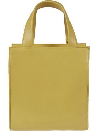 Prada Pouch Applique Top Handle Shopper Bag