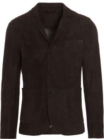Desa 1972 'thick Suede Nappato' Jacket