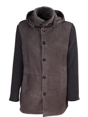 Gimo's gray jacket