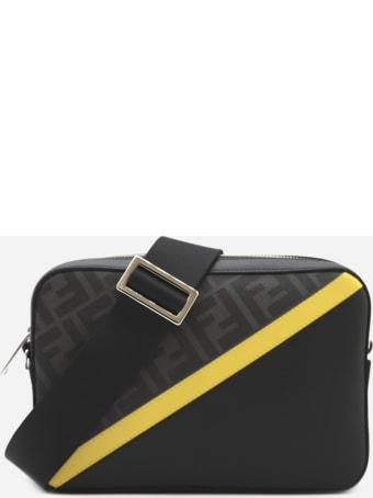 Fendi Camera Case Bag In Fabric With Ff Motif
