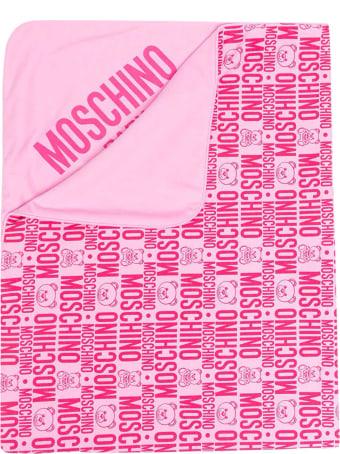 Moschino Fuchsia Blanket