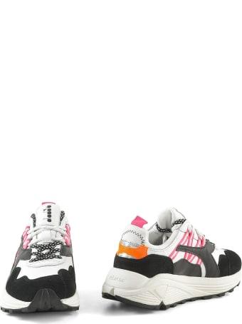 Diadora White&black Women's Chunky Sneakers