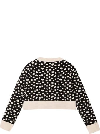 Balmain Girl Patterned Sweatshirt