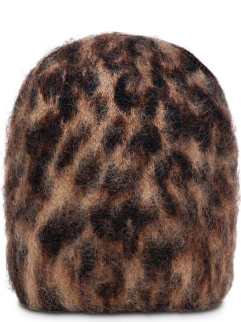 Jucca Animalier Mohair Blend Hat