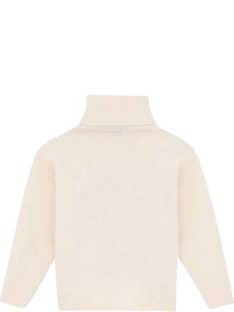 Dolce & Gabbana White Pull