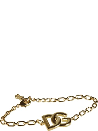 Dolce & Gabbana Dg Logo Chain Bracelet