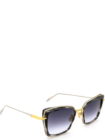 Dita Dita Dts405-a-01 Black Gold Sunglasses