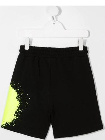 MSGM Splatter-print Shorts